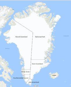 Bestemmingen Groenland