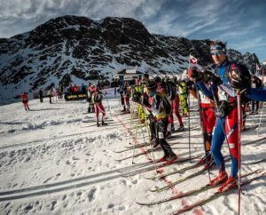 Groenland Arctic Circle race
