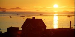 Middernachtzon Groenland