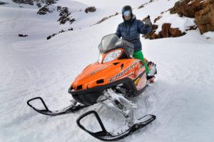 Sneeuwscooteren Groenland